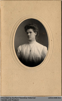 Photo of an Unidentified Woman