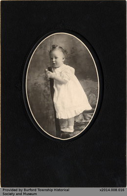 Photo of an Unidentified Child