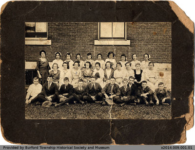Burford High School Class Photo