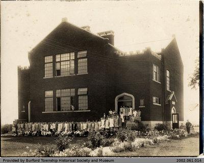 Burford High School Class Photo