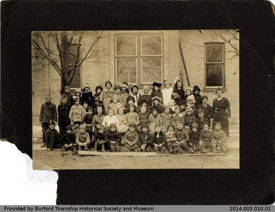 Burford Public School Class Photo