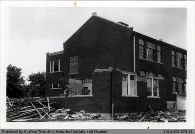 Burford District High School Being Demolished