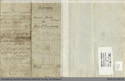 Land Deed Agreement Between Charles Pickle and Peter P. Faulkings