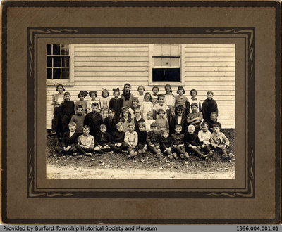 Cathcart Public School 1921 Class Photo