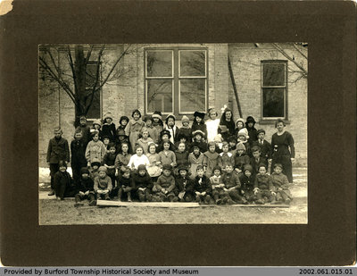 Burford Public School 1920 Class Photo