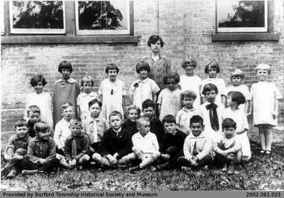 Burford Public School Class Photo