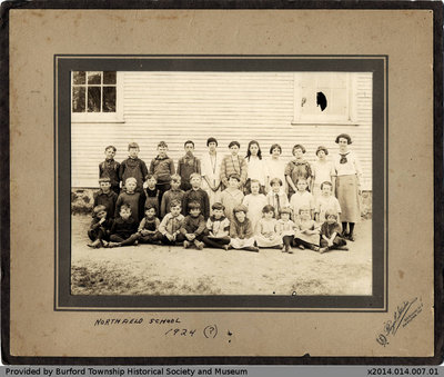 Northfield School Class Photo