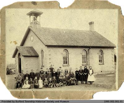 Salem School Class Photo