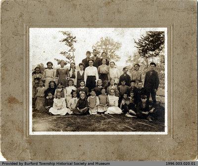 Cathcart School Class Photo