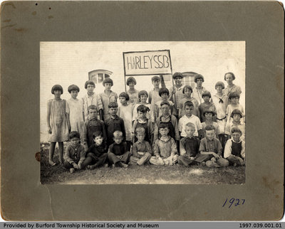 Harley School 1927 Class Photo