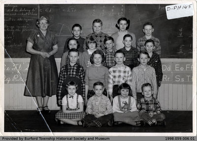 Mt. Zion School Class Photo