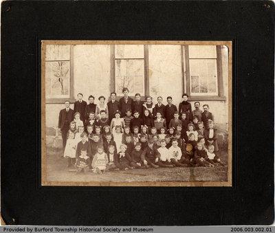 Kelvin School 1908 Class Photo