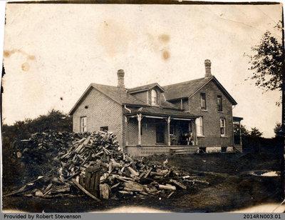 The Stevenson Farm House Photo