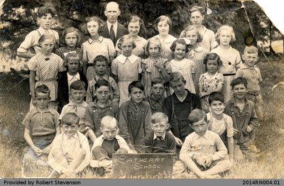 Cathcart Public School 1938 Class Photo