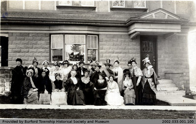 1926 Burford Women's Institute Photo