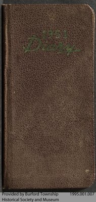 1951 Journal of Clifford Andrews