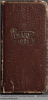 1921 Diary of Eva May Read