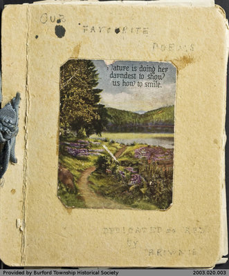 Valeria Malcolm's Poetry and Sketch Book