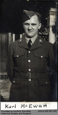Second World War Veterans from Burford Township