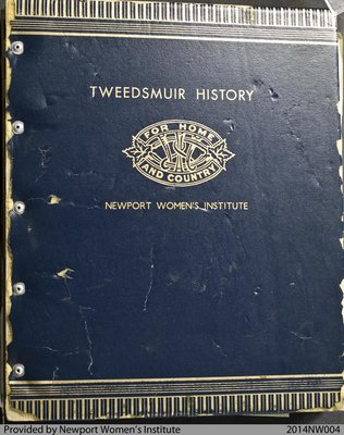 Newport Women's Institute Tweedsmuir History #1