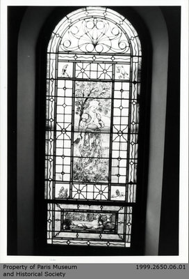 Photographs of Penmarvian Stained Glass Windows