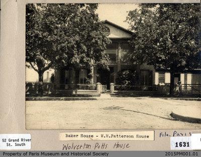 Photograph of Asa Wolverton House