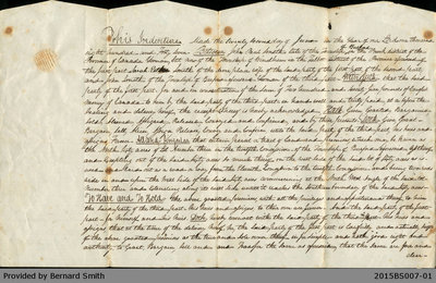 Land Deed Agreement Between John Paul Smith and John Smith