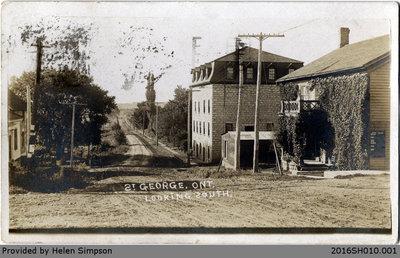 St. George Street Looking South Postcard