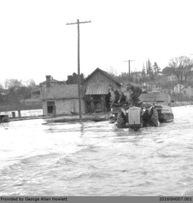Photographs of the Glen Morris Flood
