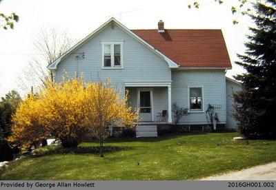 Photograph of the Howlett House