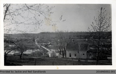 View of Glen Morris from the Church Hill Postcard