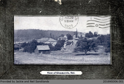 View of Glen Morris Postcard