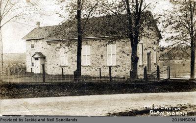 Glen Morris United Church Postcard