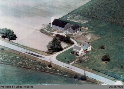 Aerial Photograph of the Harley Homestead