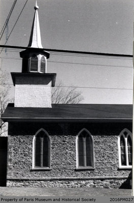 Photograph of the Steeple at St. James Anglican Church