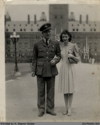 "John ""Jack"" Chapple and Mary (Welsh) Tate, Honeymoon"