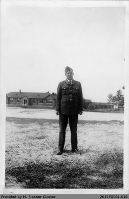 "John ""Jack"" Chapple Tate, Camp Borden"