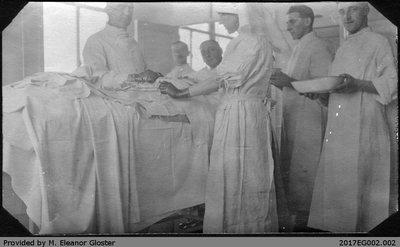 Dr. Courtland Casimer Fissette, England 1917
