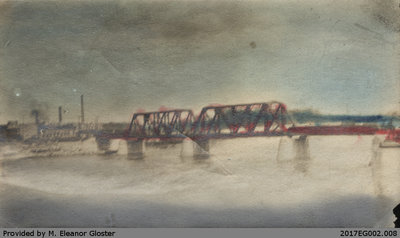 Grand Trunk Railway Bridge at Brantford, 1919