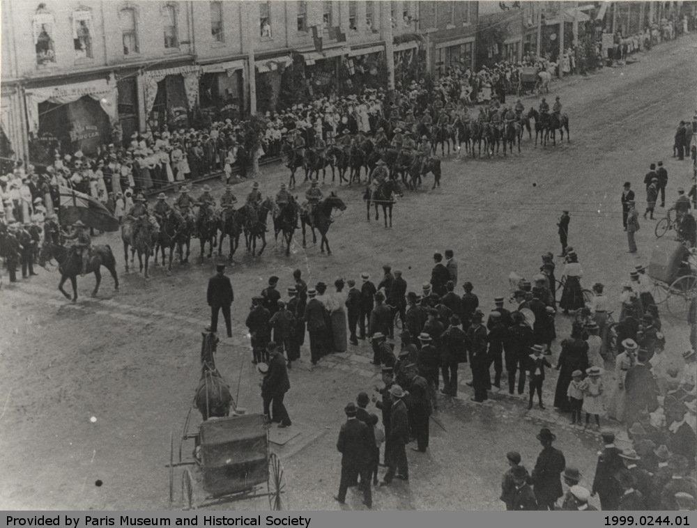 Paris-Burford Rough Riders, Circa 1900