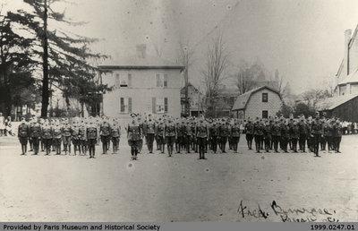Paris Public School Cadet Corps Circa 1928