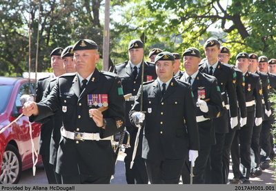 56th Field Artillery Regiment, Royal Canadian Artillery 150th Anniversary Parade, 24 September 2016