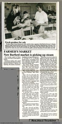New Burford market is picking up steam