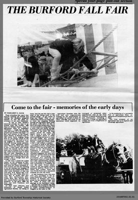 Come to the fair - memories of the early days