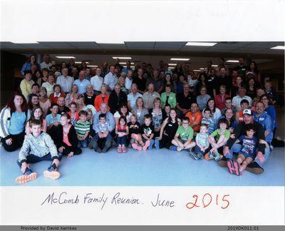 Photograph of 2015 McComb Family Reunion