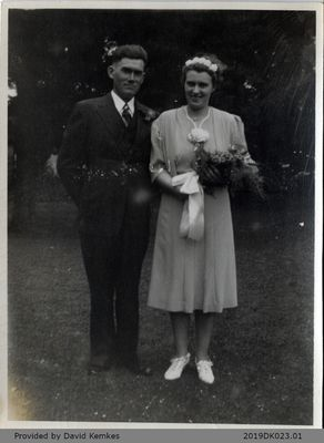 Photograph of Will and Bessie Kemkes