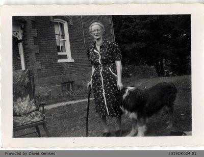 Photograph of Bertha Maud McComb (Rosebrugh)