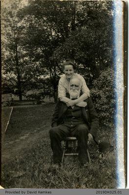 Photograph of Bertha Maud McComb and Hiram Rosebrugh