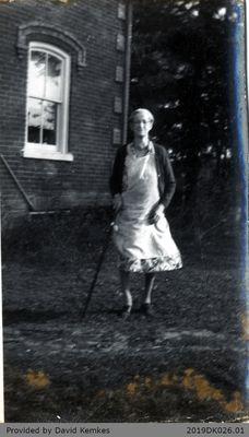 Photograph of Bertha Maud McComb
