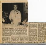 Newspaper Section: Gladys Beaizley 90th Birthday